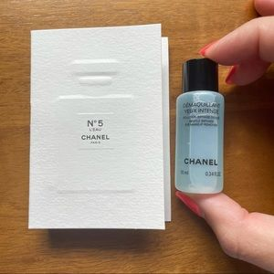 Chanel No 5 and Eye Makeup Remover Sample